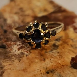 Jewelry - Sapphire and gold ring